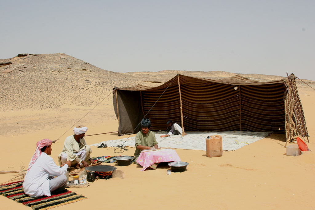 addakl beduinen tent